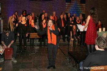 Weihnachtskonzert mit River of Joy und Lisa May Lesch in der Christuskirche Hennef_3