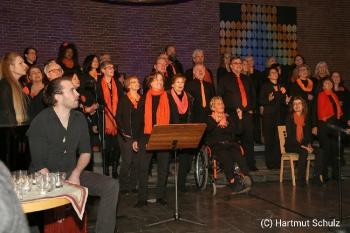 Weihnachtskonzert mit River of Joy und Lisa May Lesch in der Christuskirche Hennef_4