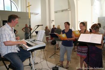 2015 Gospelworkshop in München mit Helena Gospel Spirit und Gästen_1